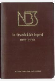 La Nouvelle Bible Segond - Edition d