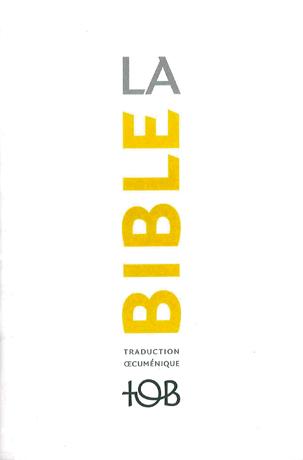La Bible TOB